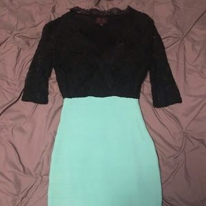 Hot Miami Styles lace top dress